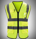 Breathable Highway Administration Highlight Reflective Protective Vest for Dark Outdoor Activity