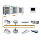 Hotel HVAC Solution R410A Vrv Vrf System Indoor Outdoor Units Manufacturer Commerial Central Air Conditioner