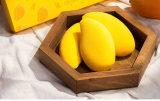 Newest Beauty Accessories Custom Logo Cheap Set of 3PCS Mango Beauty Sponge Makeup with Packaging