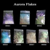 Laser Holo Glitter Iridescent Nail Sequin Dust Nail Art Aurora Flakes