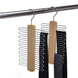Customized Top Quality Wooden Clothes Hanger with Multi Layers to Save Space