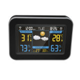 New Digital Desk WiFi LCD Clock Weather Station with APP Control for Home