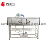 Cheap Semi Automatic Sleeve Labeling Machine with Steam Shrink Tunnel for Plastic Bottles
