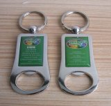 Logo Print Bottle Opener Keychain Made in China