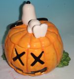 Pumpkin Halloween OEM Ceramic Craft