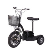 500W Adult Three Wheel Electric Tricycle Mobility Scooters