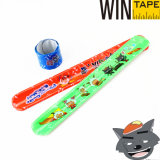 Custom PVC Cheap Slap Bracelets Under Your Design (SB-007)