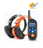 Dog Training Bark Stopper 800m Remote Control Shock Vibration Warning Pet Products Electronic Necklace Waterproof