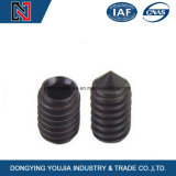 Carbon Steel Hexagon Socket Set Screw with Cone Point