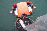 65 Persons Canopied Reversible Inflatable Life Raft