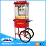 Hot Sale 8 Oz Automatic Old Fashioned Electric Commercial Kettle Caramel Popporn Maker Popcorn Making Machine with Cart Price
