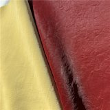 Mercerized Velvet PU/PVC Synthetic Artificial Leather for Jacket Furniture Fabric Textile Backing