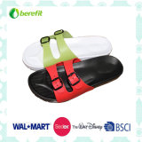 Men′s Slippers with PVC Straps, Soft Wear Feeling