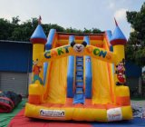 Children Favourite Playing Game Inflatable Castle Slide