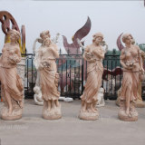 Life Size Four Season Stone Statue Marble Arts Garden Sculptures (GSS-145)