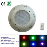 18X1w RGB LED Wall Recessed Underwater Lighting