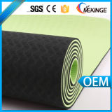 New Design Printed Black TPE Yoga Mat for Sale