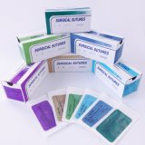 Medical Hospital Non Absorbable Silk Surgical Suture with Needle