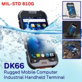 4G Lte Rugged Smartphone with High Performance NFC Reader & 13mega Pixels Camera & Dual Bands WiFi Roaming Supported