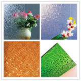 Clear or Colored Patterned / Figured Glass for Windows, Door or Shower Room Decoration
