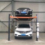 3.6t 2 Layer Underground Garage Hydraulic Four Post Parking Equipment