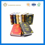 Unique Antique and Modern Fake Book Shape Decorative Box (with gold logo hot foil)