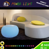 Color Changing Plastic LED Furniture LED Coffee Table