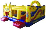 Hot Sale Commercial Cheap Inflatable Bouncer, Jumping Bouncy Castle with Slide
