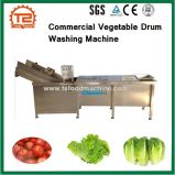 Continouse Commercial Vegetable Drum Washing Machine