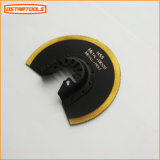 Segment Oscillating Saw Blade with Titanium Coated Tooth for Metal and Wood Cutting