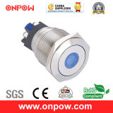 Onpow 22mm Push Button Switch (GQ22L-11D/G/6V/S, CE, CCC, RoHS Compliant)
