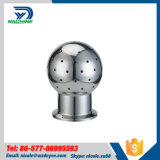 Sanitary Stainless Steel SS304 Fixed Spay Ball Triclamp Ends