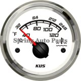 Sq 52mm Water Temperature Gauge 40-120 with Temp Sensor