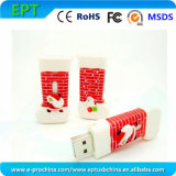 New Christmas Sock Shape USB Pen Drive for Promotion (EP042)