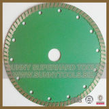 Continuous Turbo Diamond Saw Blade for Granite Cutting