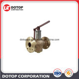 Marine Bronze Self-Closing Drain Valve