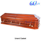 New Design Luxury Mahogany Special Customed Coffin and Casket