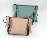 New Style PU Handbag Long Zipper Puller Decoration Leisure Bag