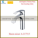 Single Handle Deck Mounted Brass Bathroom Wash Water Basin Tap