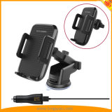 Newest Car Holder Vent Mount Qi Wireless Charger for Mobile Phones Samsung iPhone