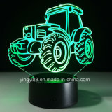 Custom 3D Night Light 7 Color Change LED Acrylic Desk Table Light Lamp