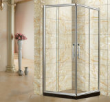 Aluminum Sliding Glass Door Shower Cabin Toughened Glass Shower Enclosures