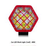 LED Truck Lights Rear Direction Stop Lamp 48W Round Square Auto Lamp12V 24V 48W LED Work Lights for Truck ATV UTV SUV