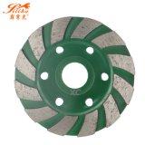 4 Inch Wholesale Blades Diamond Cup Grinding Wheel for Floor Polishing