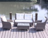 Garden Synthetic Rattan Sofa Luxury Outdoor Furniture