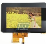 LCD TFT Monitor Standard 5.0 Inch with Touch Screen TFT LCD Display