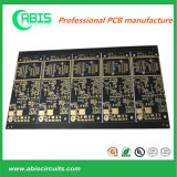 1-22L, Enig/HASL, Multilayer PCB with Black Mask