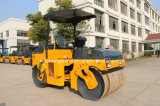 Road Machinery Mini Vibratory Road Roller with Double Drum Yzc4