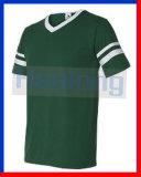 Healong Wholesale Sublimation Mens Stripe Fashion Sports Tee Shirts