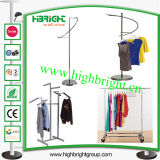 Clothes Store Display Rack Garment Rail